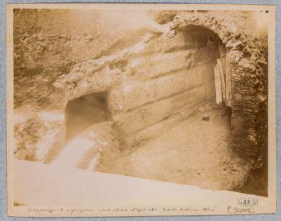 Mura Serviane, resti di costruzione del tipo dell'Aggere