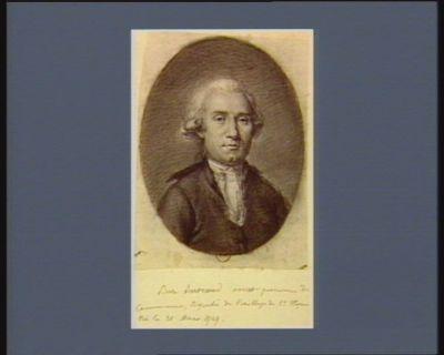 Pierre Bertrand avocat procureur de la commune, député du baillage de St Flour, né le 21 mars 1747 : [dessin]