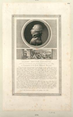 Gilbert, Mottier, Lafayette, député d'Auvergne aux Etats generaux <em>de</em> 1789 [estampe]