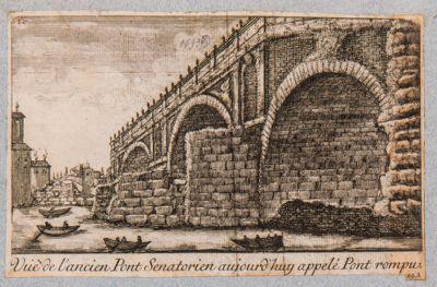 Ponte Rotto o Emilio, resti del ponte