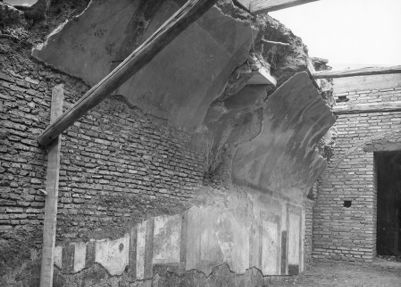 Horti Sallustiani, cryptoporticus under the garage of the American Embassy in via Friuli, north side