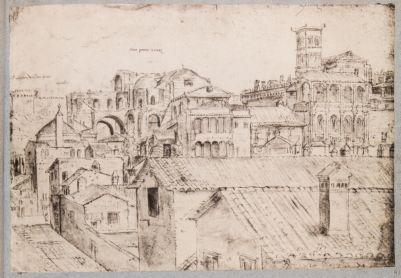 Chiesa di S. Pietro in Vaticano. Basilica Costantiniana e Basilica Nuova