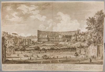 Colosseo, esterno lato sud
