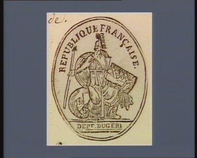 République française Dep.t du Gers : [estampe]