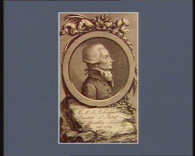 M.M.J. Roberspierre deputato d'Artois all'Assemblea nazionale nel 1789 : [estampe]