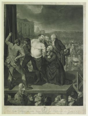 Ludwig XVI auf dem Schaffot [estampe]