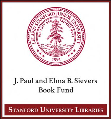 J. Paul and Elma B. Sievers Book Fund