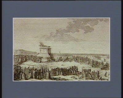 Translation des cendres de Voltaire au Temple des grands hommes [estampe]