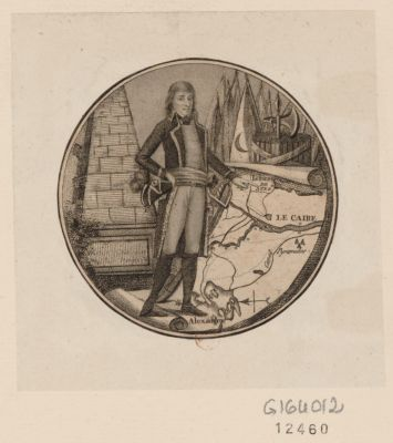 Bonaparte au Caire [estampe]