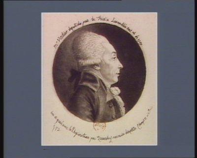 Mr Vadier député du pais de Foix à l'Assemblée nat.ale de 1789 [estampe]