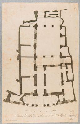 Palazzo Massimi, pianta parziale