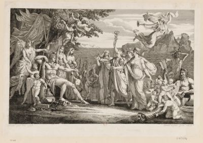 [Ferdinand trois, grand duc de Toscane propose la paix à la République française] [estampe]