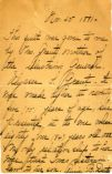 Correspondence (incoming): Dent, Annie B., 1891-1896
