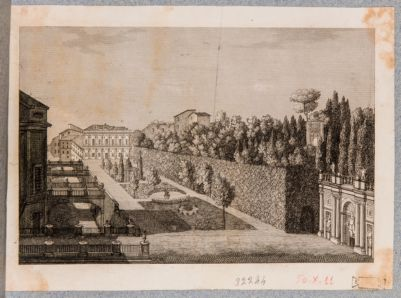 Villa Colonna. Veduta parziale