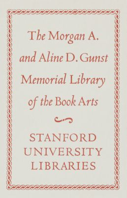 Morgan A. and Aline D. Gunst Memorial Book Fund
