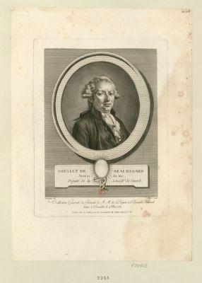 Grellet de Beauregard avocat du Roi, deputé de la sénéch.ée de Gueret : [estampe]