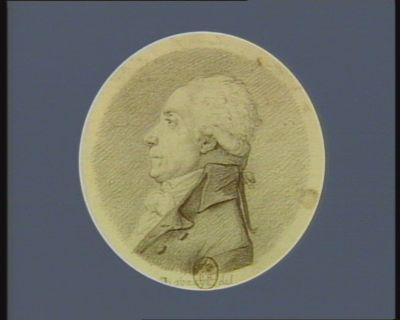 Jean Baptiste Chavoix homme des lois député de Limoges à l'Assemblée nationale né à Juillac Bas Limousin le 4 8.bre 1738 : [dessin]