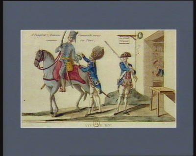 Vive le Roi vive les bons citoiens françois, et soions a jamais les enfans de la patrie : [estampe]