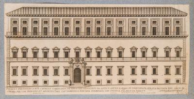 Palazzo del Quirinale, fianco