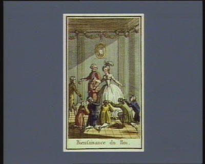 Bienfaisance du Roi [estampe]