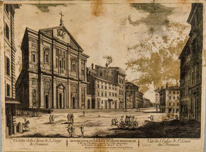 Chiesa di S. Luigi dei Francesi, facciata