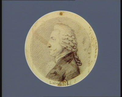 Janny député du bailliage de Chaumont-en-Bassigny né à Brienne le 24 X.bre 1733 : [dessin]