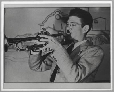Benny Strickler, Trumpet,  taken at Dawn Club, 1942