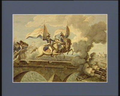 [Passage <em>du</em> Pont d'Arcole] dessin original de Lembert <em>du</em> Passage <em>du</em> pont d'Arcole gravé par Chaponnier : [dessin]