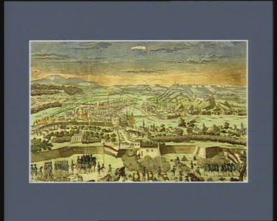 Lyon assiégé par larmée de la République française, l'an 1793, punition des traîtres à la patrie... : [estampe]