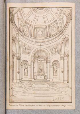 Chiesa dei SS. Giovacchino e Anna, interno