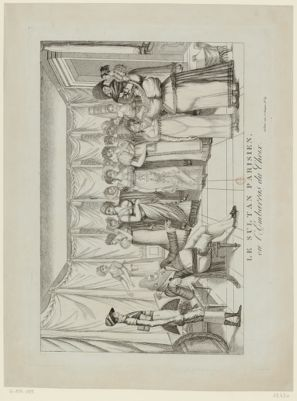 Le  Sultan parisien, ou l'Embarras du choix [estampe]