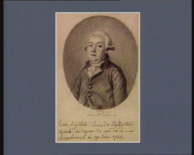 Jean Baptiste Louis de Kyttpotter deputé du depar. du nord né à Hazebrouck le 19 Juin 1751. : [dessin]