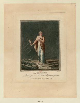La  Prudence [estampe]