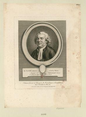 <em>R</em>. Claye, laboureur au Boulay-Thierry député de Chateauneuf-en-Thimerais, né au Boulay des 2 Eglises le 7 X.bre 1735 : [estampe]