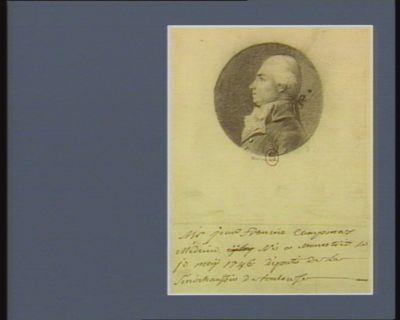 M. Jean-François Campmas médecin né à Monestier le 10 mai 1746 député de la sénéchaussée de Toulouse : [dessin]