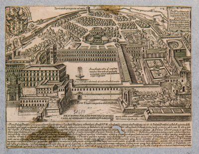 Descriptio Palatii Pontificis in Vaticano ac viridarii