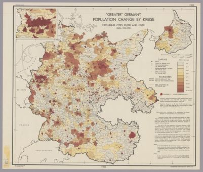 Map Of Germany 1939.Maps Of Germany Office Of Strategic Services Maps Spotlight At