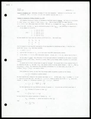 CS 155 1974 - Handout No. 9