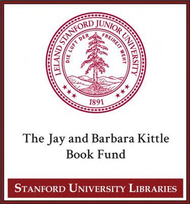 The Jay and Barbara Kittle Book Fund