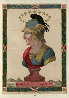 Horatius Coclès [estampe]