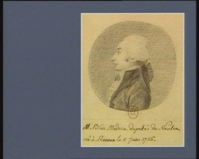 M. Blin médecin député de Nantes né à Rennes le 8 juin 1756 : [dessin]