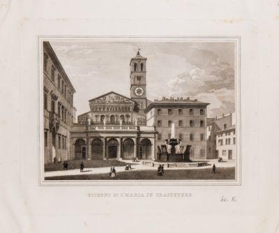 Chiesa di S. Maria in Trastevere, esterno