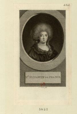 Mde Elizabeth de France [estampe]