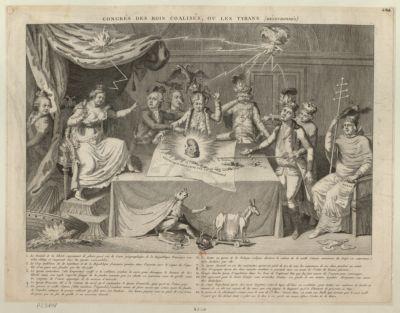 Congrès des rois coalisés, ou les tyrans (découronnés) [estampe]