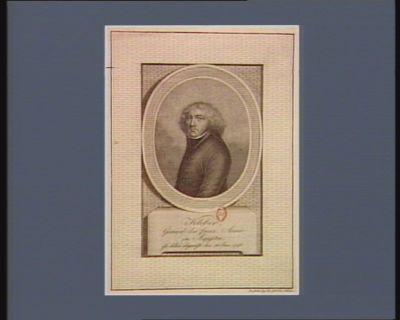 Kleber, General der franz. Armée in Aegypten, ist dahin abgereift den 18 Jun. 1798 [estampe]