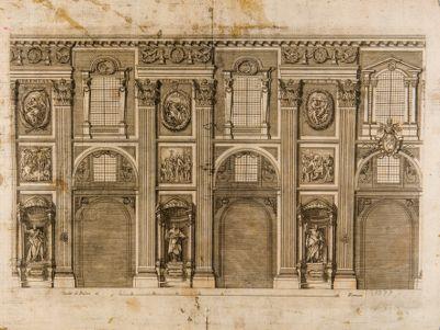 Chiesa di S. Giovanni in Laterano. Interno, navata centrale