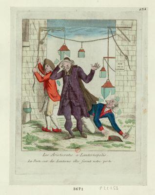 Les  Aristocrates a Lanternopolis <em>la</em> peste soit des lanternes elles feront notre perte : [estampe]