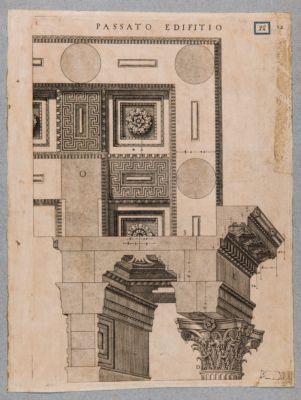 Tempio di Marte Ultore, capitello e base