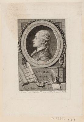 S.N. Henri Linguet né à Rheims en l'année 1736 : [estampe]