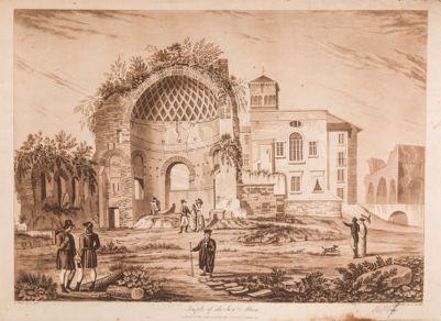 Tempio di Venere e Roma, cella rivolta verso il Colosseo